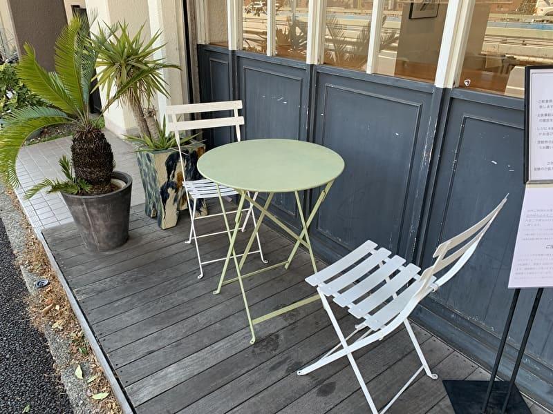 Onigily Cafe おにぎりカフェ 中目黒 テラス席