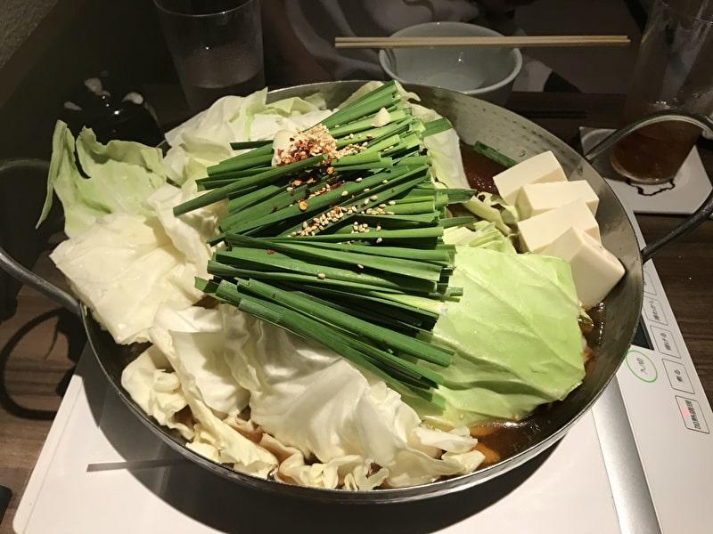 渋谷(松濤) お汐井 もつ鍋(醤油)