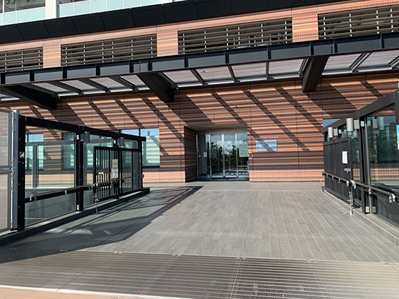 大橋図書館 入口