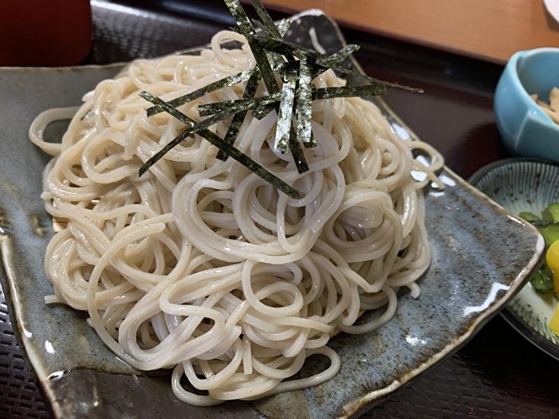 朝日屋 中目黒(青葉台) ざる蕎麦