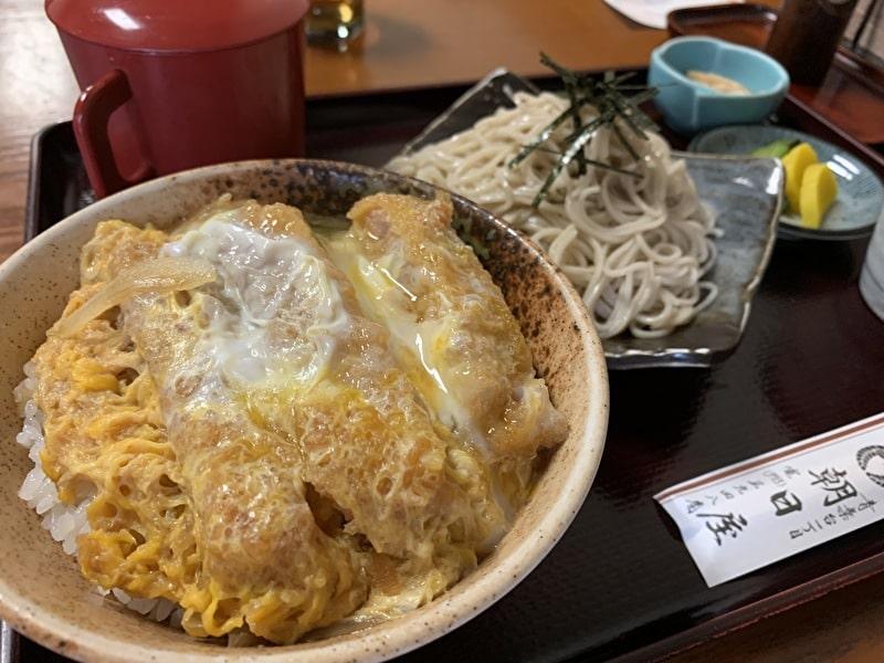 朝日屋 中目黒(青葉台) かつ丼セット
