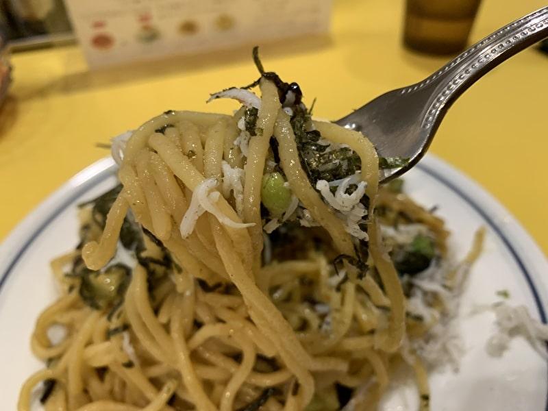 関谷スパゲティ 中目黒 今月のオススメ アップ
