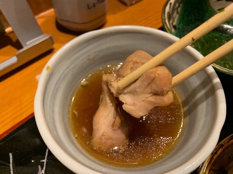中目黒 ヒカリ 煮物(鶏肉)