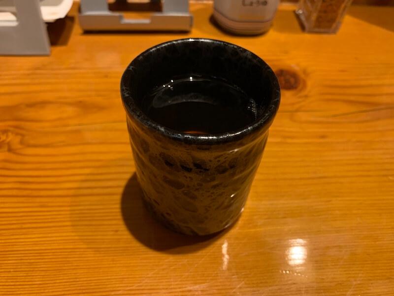 中目黒 ヒカリ 食後のお茶