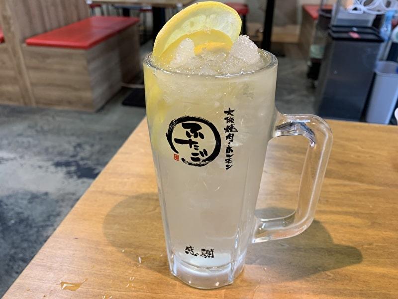 大阪焼肉・ホルモン ふたご レモンサワー