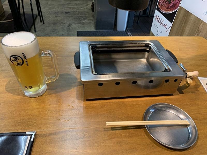 大阪焼肉・ホルモン ふたご テーブルセット