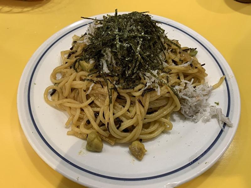 関谷スパゲティ 中目黒 今月のオススメ