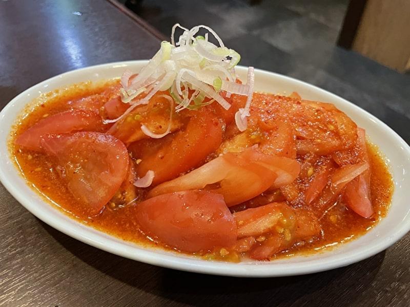三宿トラジ 祐天寺 焼肉 トマトサラダ